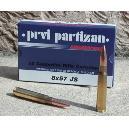 Cartouches Partizan Cal. 8x57 JS 198-Grs FMJ