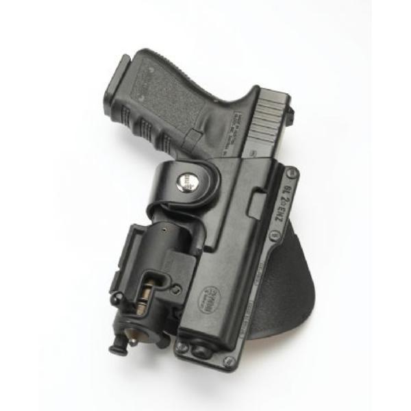 Holsters Fobus pour arme avec Accessoires Montés sur le Rail