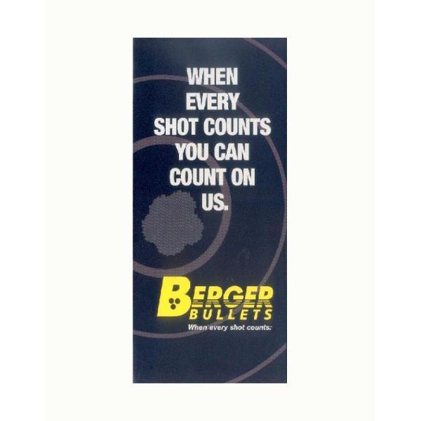 Brochure Berger Bullets en Anglais