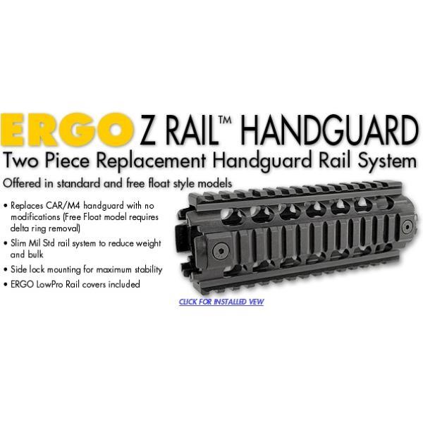 Garde Main AR15 Ergo Z Rail