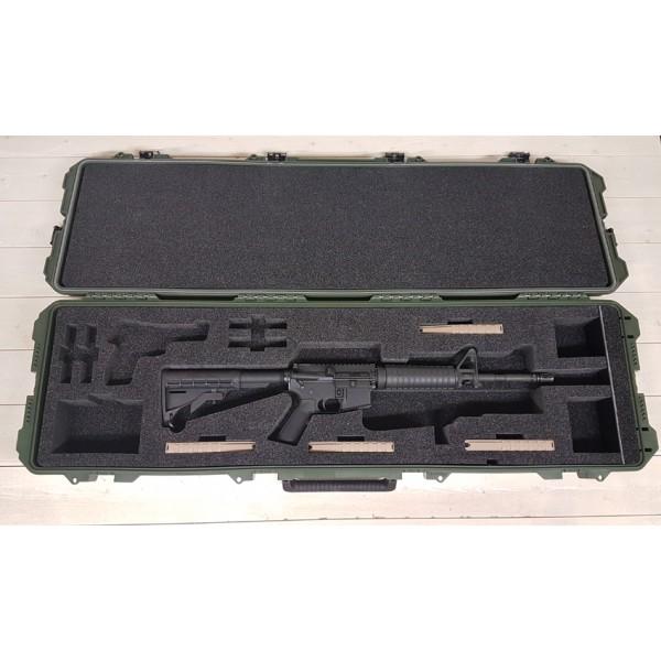 Valise à Fusil M4 ou M16 Vert Olive