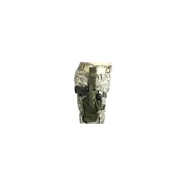 Holster Airborne Omega VI Glock 20, 21/USP 40/45 Vert Olive