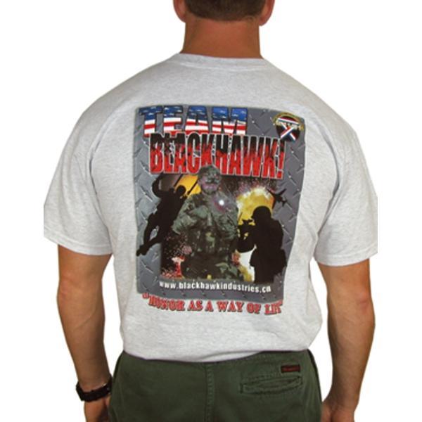 T-Shirt BlackHawk Comp Gris Large
