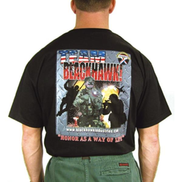 T-Shirt BlackHawk Comp Noir Large