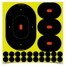 """SHOOT-N-C 9"""" ( 5 )  Silhouettes assorties"""