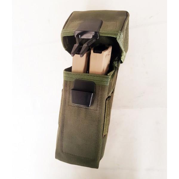 Porte Chargeurs 5,56mm (2) Vert Olive