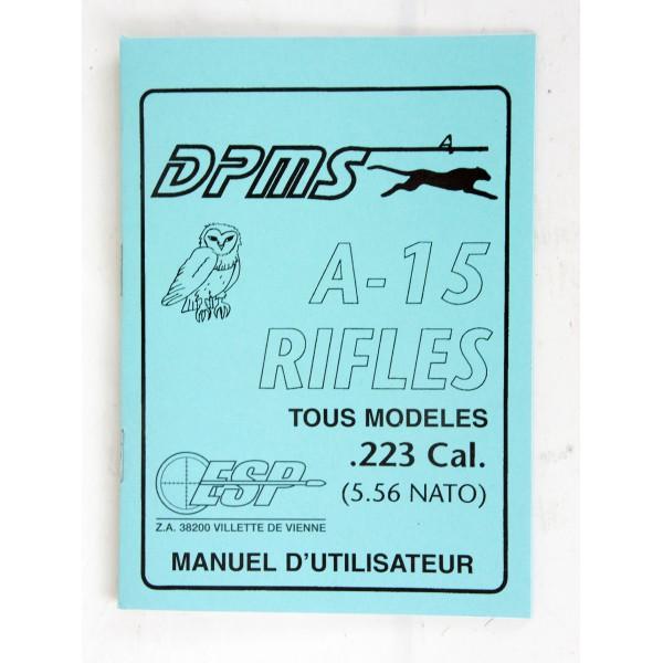 Manuel d'Utilisateur DPMS A-15