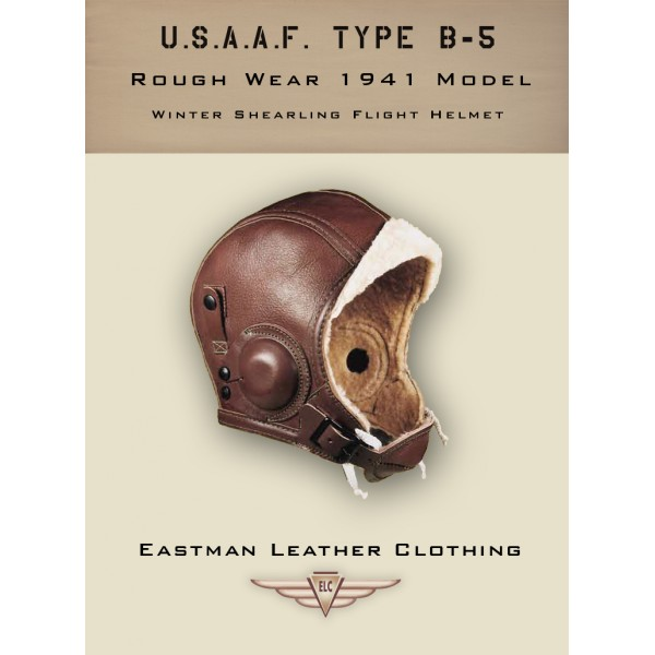 Casque de Vol Type B5 USAAF