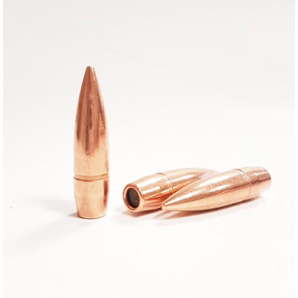 """Balles 8mm  (.327"""") 200-Grs FMJ BT Partizan (en sachet de 500)"""