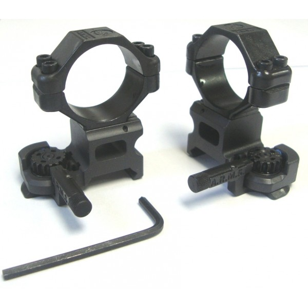 Colliers A.R.M.S. 30mm avec Leviers II