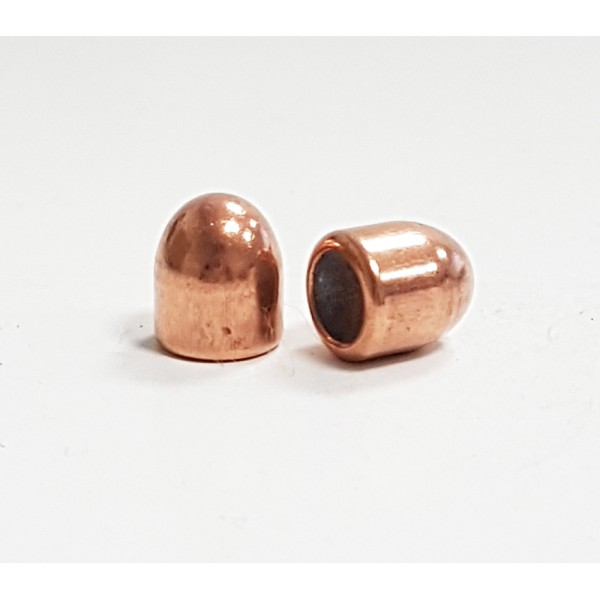 "Balles Cal. 9mm (.3545"") 93-Grs FMJ Partizan (en sachet de 500)"