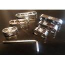 Séparateurs de fil de bougie - 2-3-4 Fils plastique alu - 6 pièces